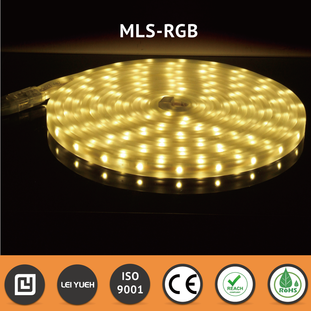 Made in Taiwan Red Blue Green <strong>RGB</strong> Waterproof IP67 LED Lights strip