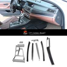 5 series High quality carbon fiber interior trim F10 F18 525i 528i 535i 100% carbon fiber interior trim