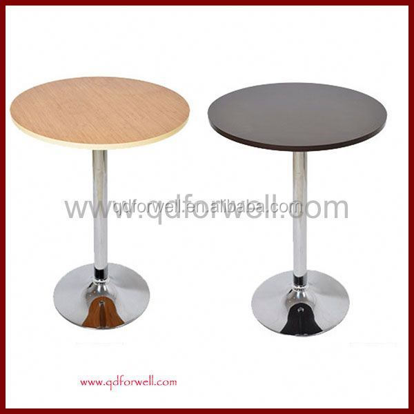 Durable Plastic Modern Appearance bar top table and chairs for rent