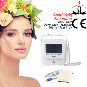 Functional Semi Permanent Makeup Digital Eyebrow Eyeliner Lip Tattoo Machine