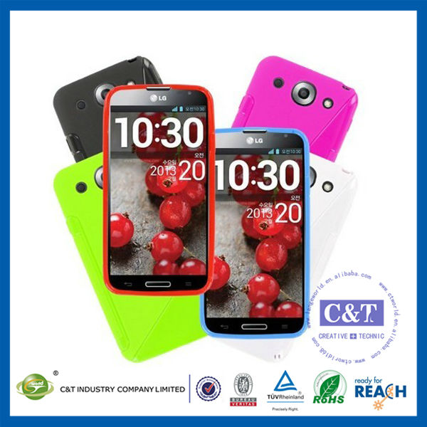 C&T Rubber protective cover for lg optimus g pro e988 phone case