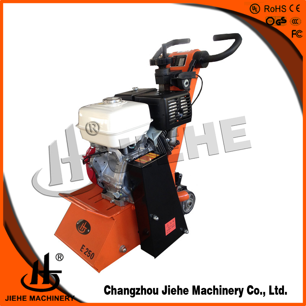 "250MM(10"") thermoplastic road line painting removal equipment JHE-250,clean on one go"
