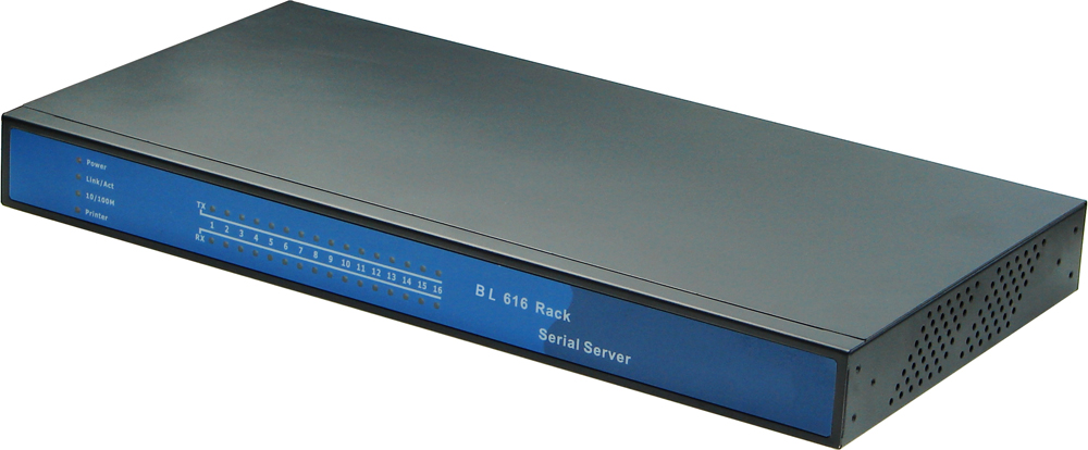 16 port BL608 Serial Device Server RS232 RS485 to Ethernet TCP Converter Support TCP UDP WEB to Serial