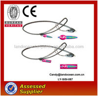 2015 Fashion design plastic Zipper lanyard