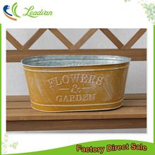 wholesale cheap balcony flower pot hanging half round planters