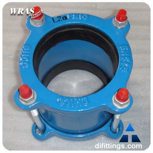 quick steel pipe repair flexible reducer coupling with flange for pvc pipe