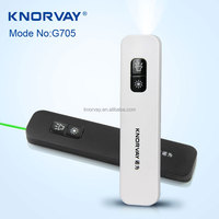 G705 free laser pointer,2 in 1 integrative wireless presenter,power point 2 in 1 integrative wireless presenter