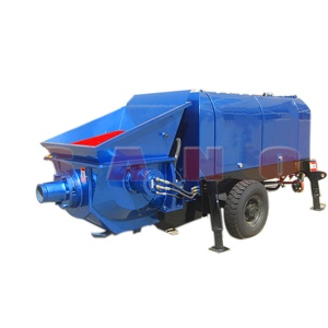 30m3/h HBTS30-12-45 Trailer-mounted Small portable concrete pump for sale