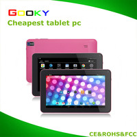 "Customized 9"" Wifi Android Tablet Quad core 8GB free shipping"
