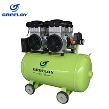 4hp Quiet electric air compressor with four oil free air motors
