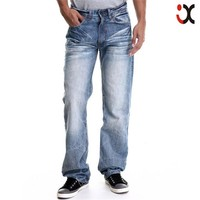 2015 cheap wholesale classic five pocket regular fit men jeans pent JXZ106