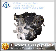 Brand New engine block for TOYOTA 1RZ/2RZ ENGINE COMPLETE (CARB TYPE) with high quality and low price.