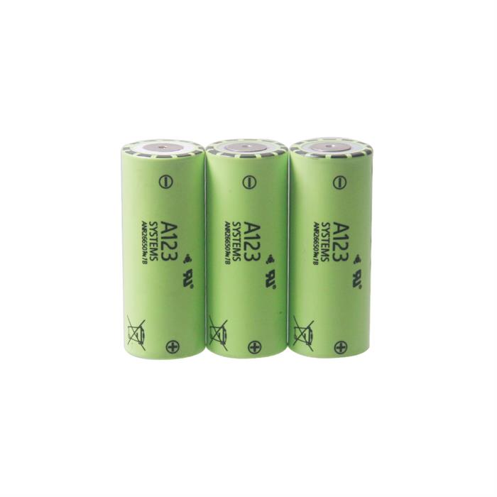 Rechargeable 26650 lithium ion Battery 3.2V 2500mAh for E-bike