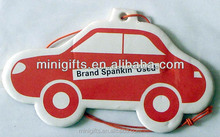 New design promotional gift custom printed paper air freshener for car