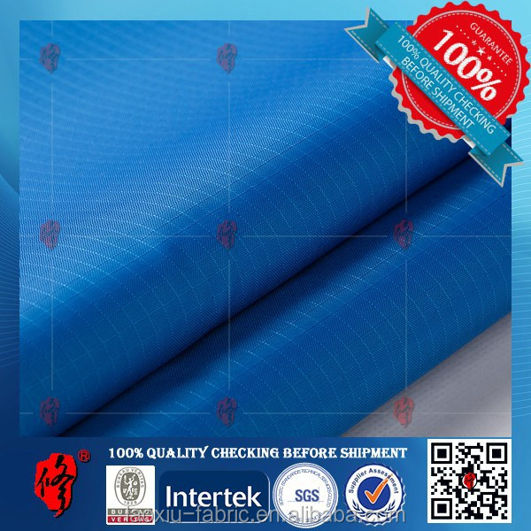 oxford cloth with pu coating blackout fireproof curtain fabric