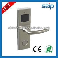 New Design Profesional Manufactory Stainless Steel swipe key card hotel door lock