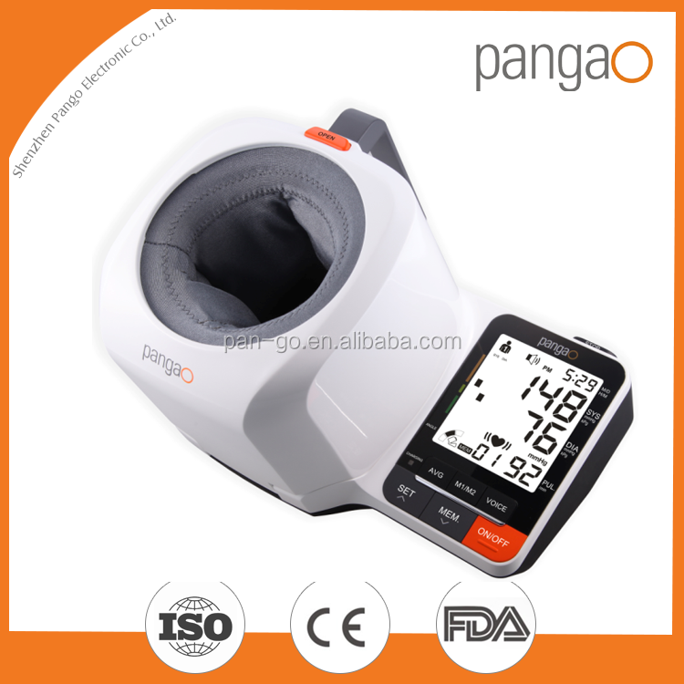 tabletop talking electronic blood pressure monitor with CE approval