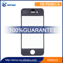 high quality CN A+ Black Front Glass Lens Touchscreens Digitizer For iPhone 4 4g 4S Touch screen For LCD Screen