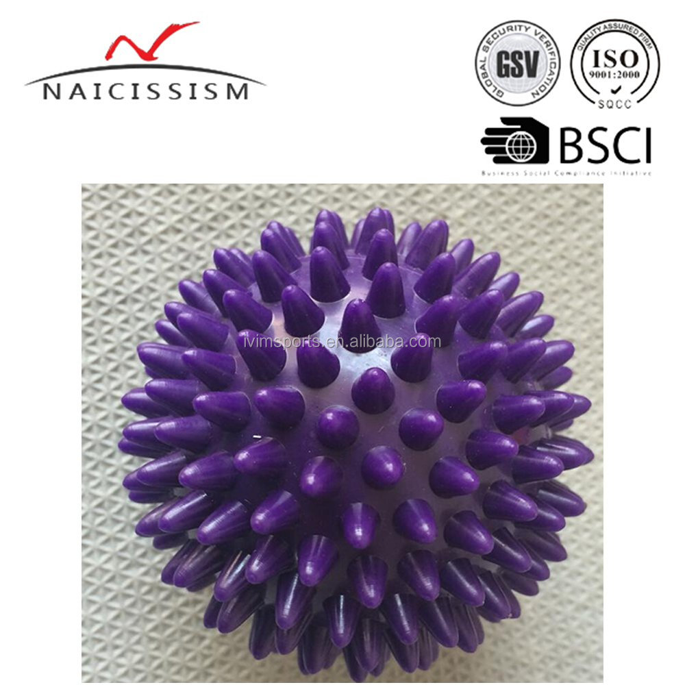 spiky massage ball for muscle relax