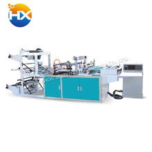 Automatic biodegradable plastic film clothing shopping bag making machine price