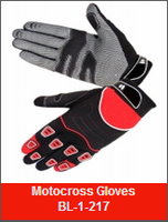 BARCO LEATHER INDUSTRIES Off road motorcycle safety gloves