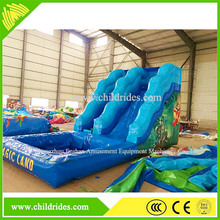 funfair theme park game amusement best price inflatable bouncer water slide purchase