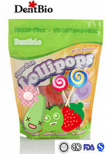 Natural color and natural flavour lollipop blended Lollie candy