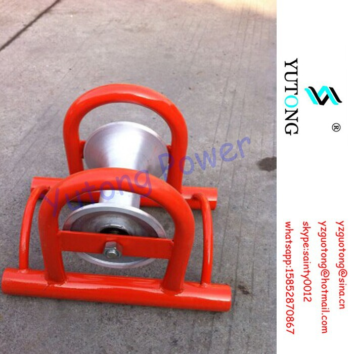 cable roller guide with single roller