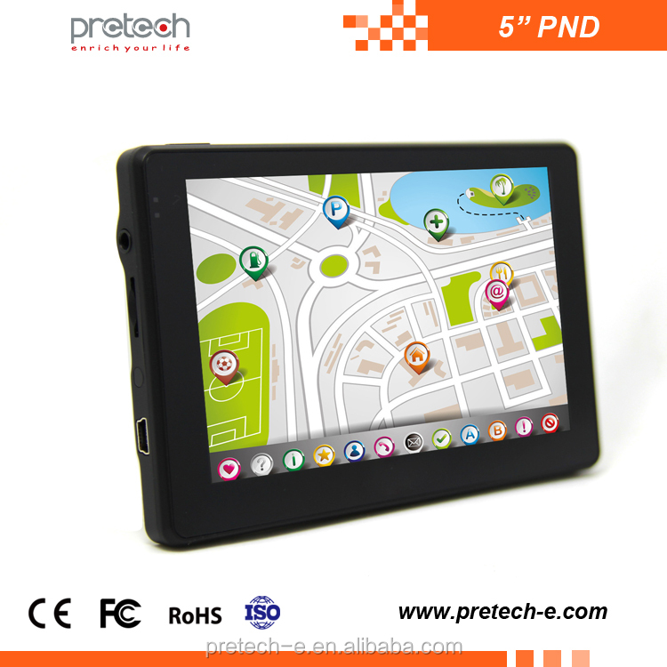 Best quality portable car pnd 5 inch Android shenzhen the navigator GPS Bluetooth tablet pc for car