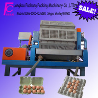 longkou fuchang quail eggs tray making machine