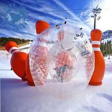 Cheap PVC inflatable Human Hamster Balls bowling Zorb Balls for sale