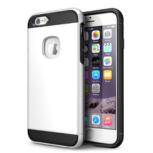 Dual layer hybrid armor mobile back cover, For iphone 6 6s shockproof phone case for iphone 7 plus case