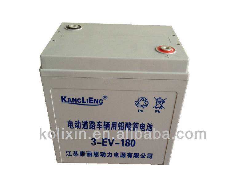 electric road vehicle battery 3DM-180(3-EV-180)