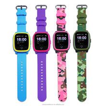 Touchscreen IOS Android GPS Tracking Bracelet Device GSM GPS Kids Security Smart Watch