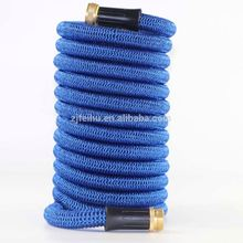 Top quality Latex garden hose 50 Feet Magic Expandable Hose shrinking garden pipe with Spray Gun
