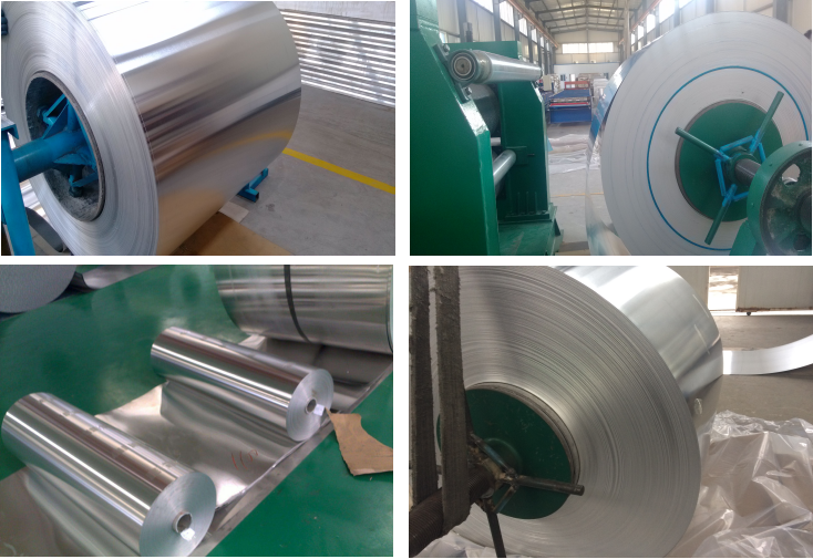 Pretty aluminum embossing coil for packing tube for sale