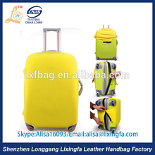 Hot Wholesale High Soft Waterproof Neoprene Travel Bag Luggage Cover
