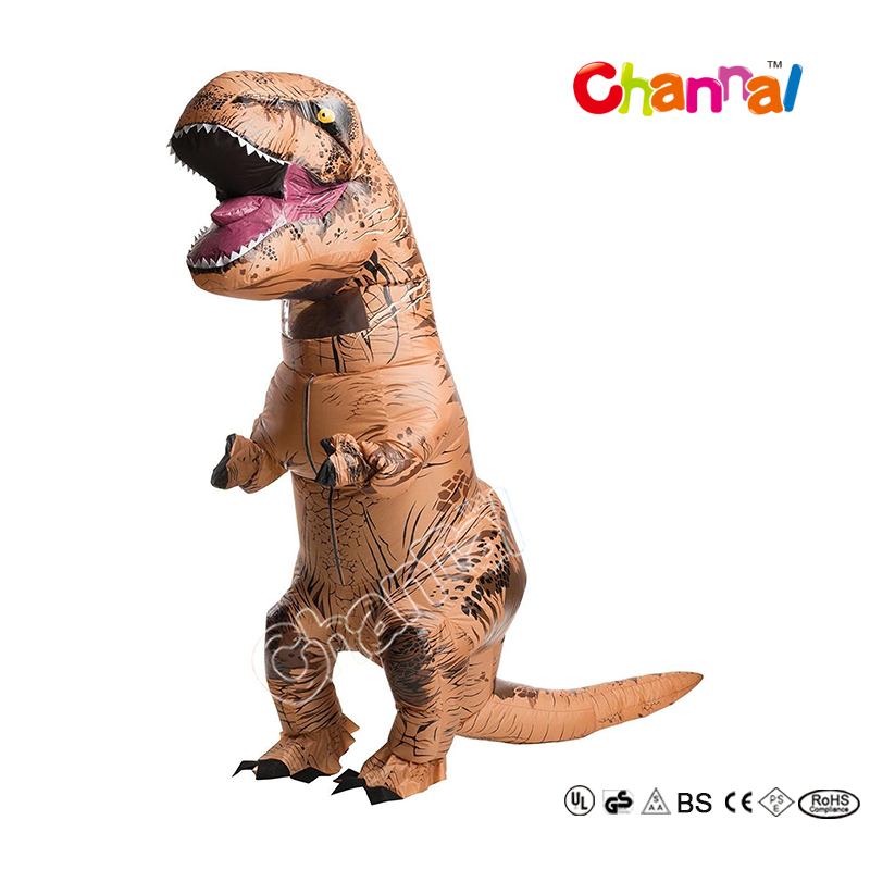 2017 New Design Inflatable T-Rex Costume Walking Dinosaur Costume