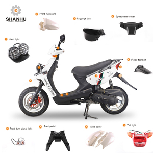 Direct factory wholesale adult gas scooter motorcycle plastic body parts