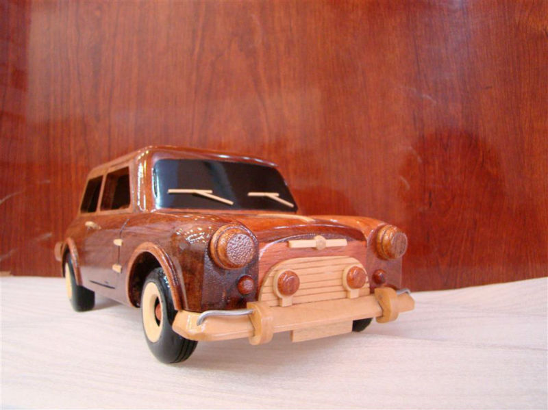 Mini Wooden model Car