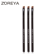 China manufacturers magic beauty cosmetic tool Nylon hair Angled Brow makeup brush