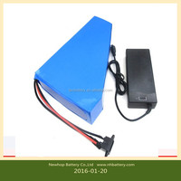 Supply 48v 30ah e-bike lithium battery pack with suitable charger