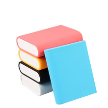 Portable phone power bank silicone cover, portable charger cover