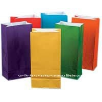 Multicolored Paper Bags for Cakes