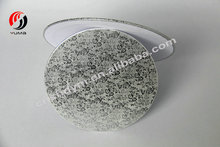 Wholesale mini silver cake boards circle