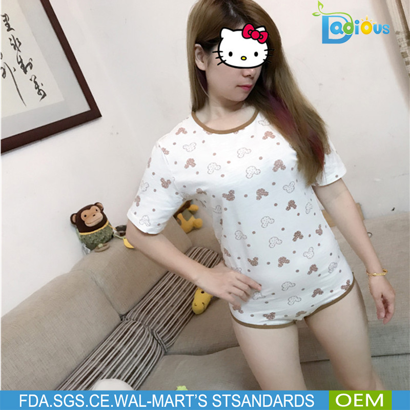 Special Design Sexy Girl Wearing Open Crotch Adult Pajamas