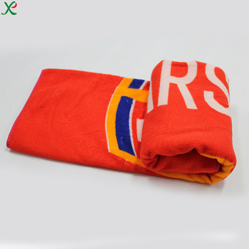 High Quality Luxury Large Custom Embroidery Logo Home And Hotel Use Microfiber Terry Bath Towel