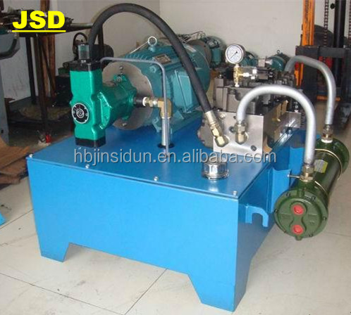 JSD HYDRAULIC PUMP STATION WITH 380 VOLTAGE