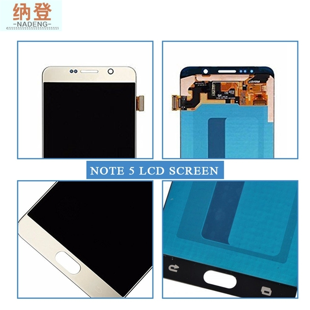 Big Discount Screen For Samsung Galaxy Note 5 Lcd N9200 N920T Digitizer Assembly,Lcd With Frame In Mobile Phone Lcds For Note 5