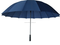 honsen Large windproof sun protection umbrella men Double-deck golf umbrella